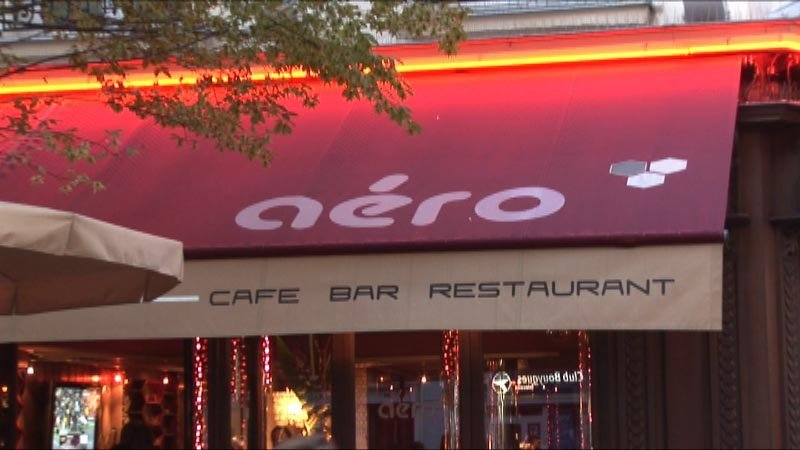 Vidéo - Restaurant Aero - Paris
