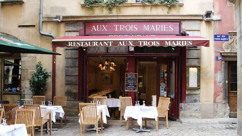Restaurant Aux Trois Maries - Lyon