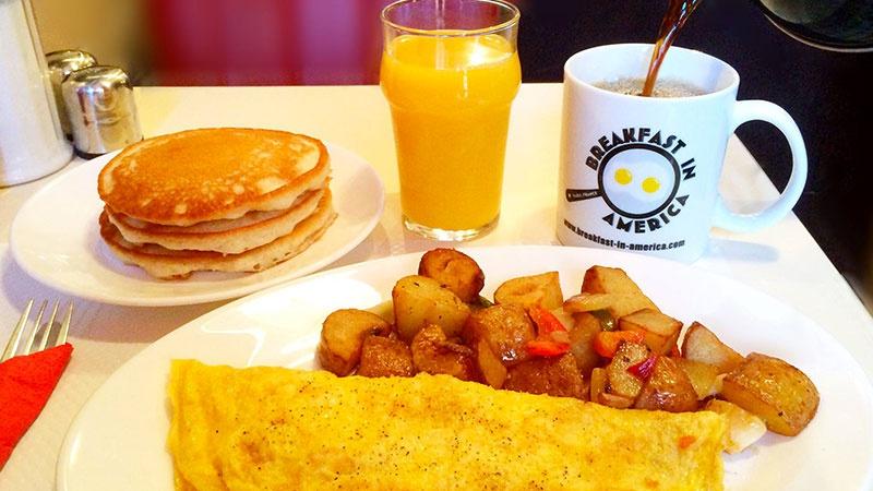 Restaurant Breakfast in America - Paris