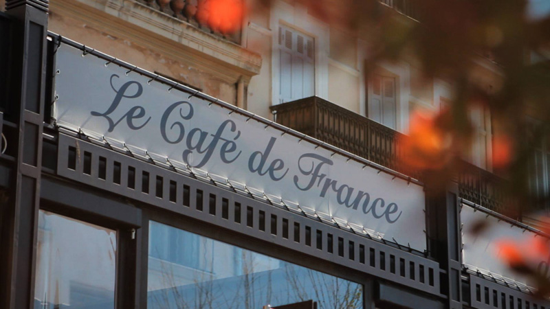 Restaurant Café de France - Sainte-Maxime