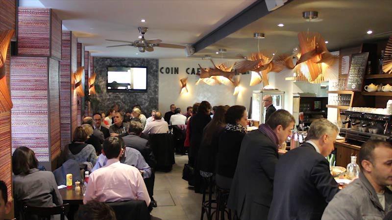 Vidéo - Restaurant Café du Coin - Paris