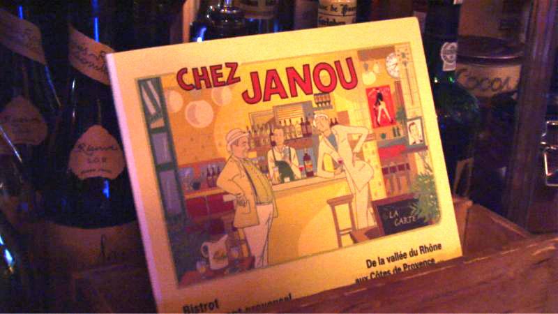 Vidéo - Restaurant Chez Janou - Paris