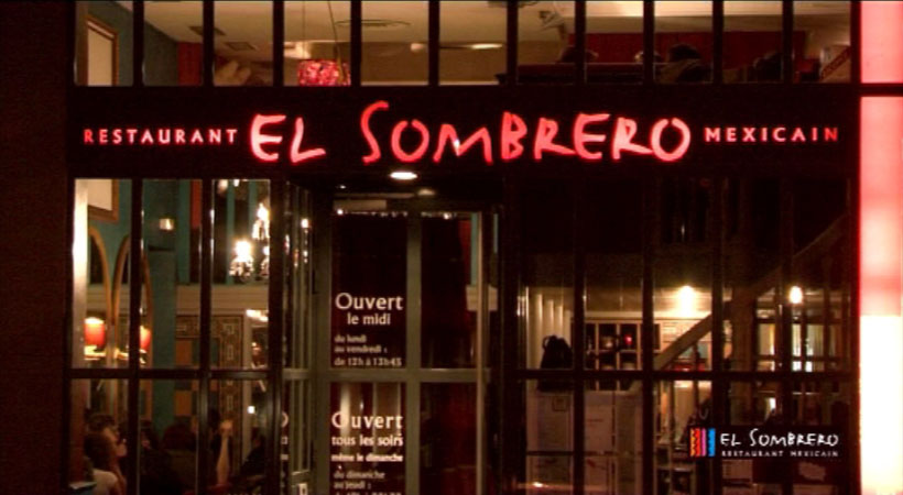 Vidéo - Restaurant El Sombrero - Lyon