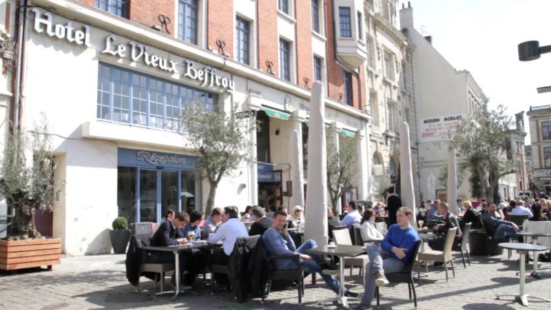 Restaurant Hôtel du Vieux Beffroi - Brussel's Café - Béthune