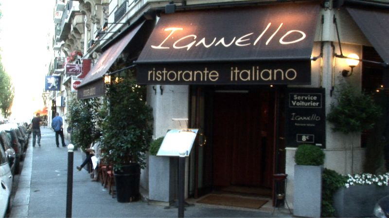 Vidéo - Restaurant Iannello - Paris