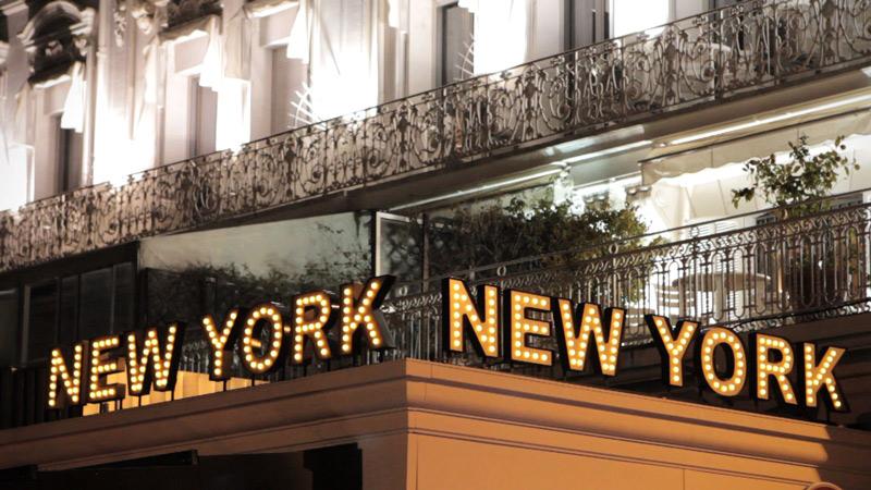 Vidéo - Restaurant New York New York - Cannes